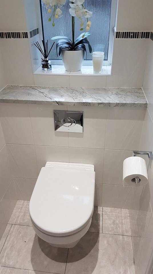 Centaurus Marble Bathroom Surfaces