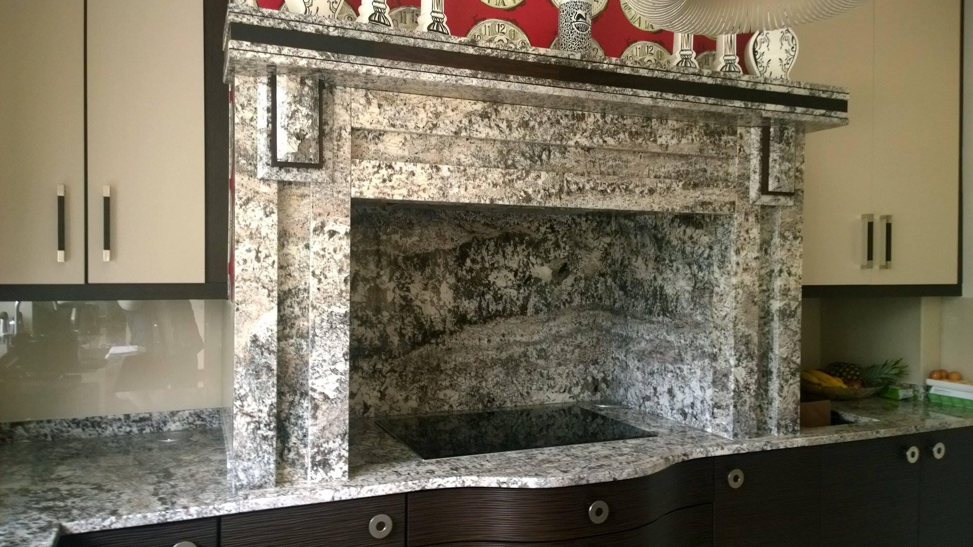 Glacier Granite Kitchen Surface