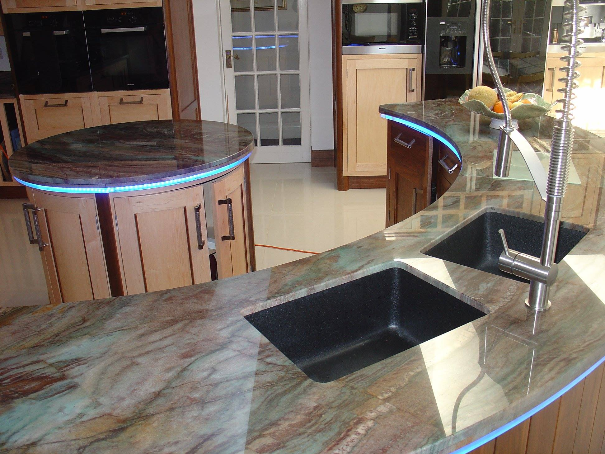 Rouge Louis Granite Worktops