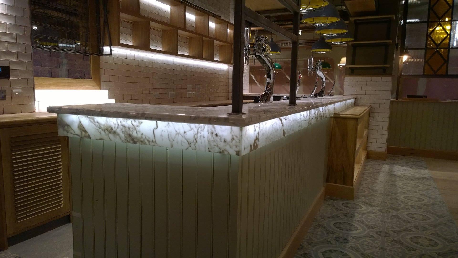 Statuari Marble Worktop